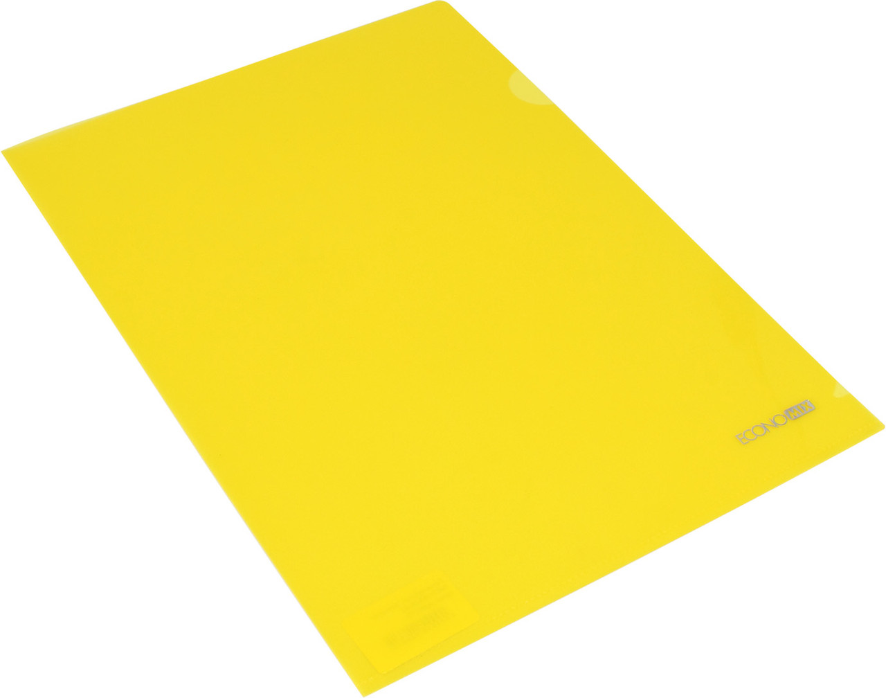 """Папка-куточок """"Economix"""" №E31153-05 A4 щільн.,жовта(10)"""