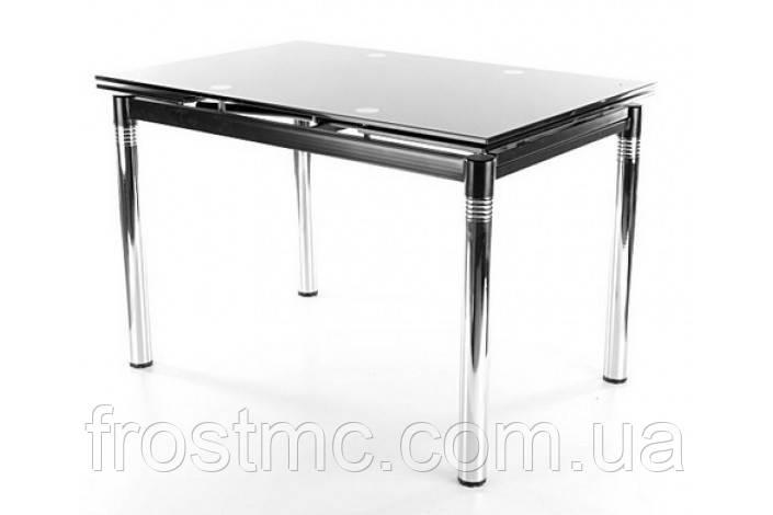 Стеклянный стол GD-018 , цвет -черный