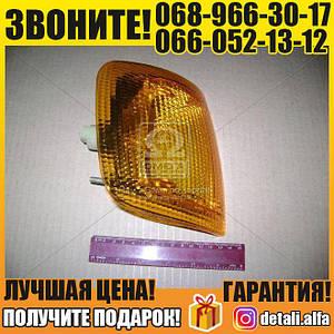 Указатель поворота ГАЗ 3302,-3110 прав. (желтый) 12В (пр-во ОСВАР) (арт. 3512.3726000-01)