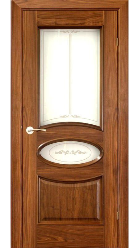 Двери межкомнатные деревянные, с массива ясеня, дуба, ольхи. Мод. 1249