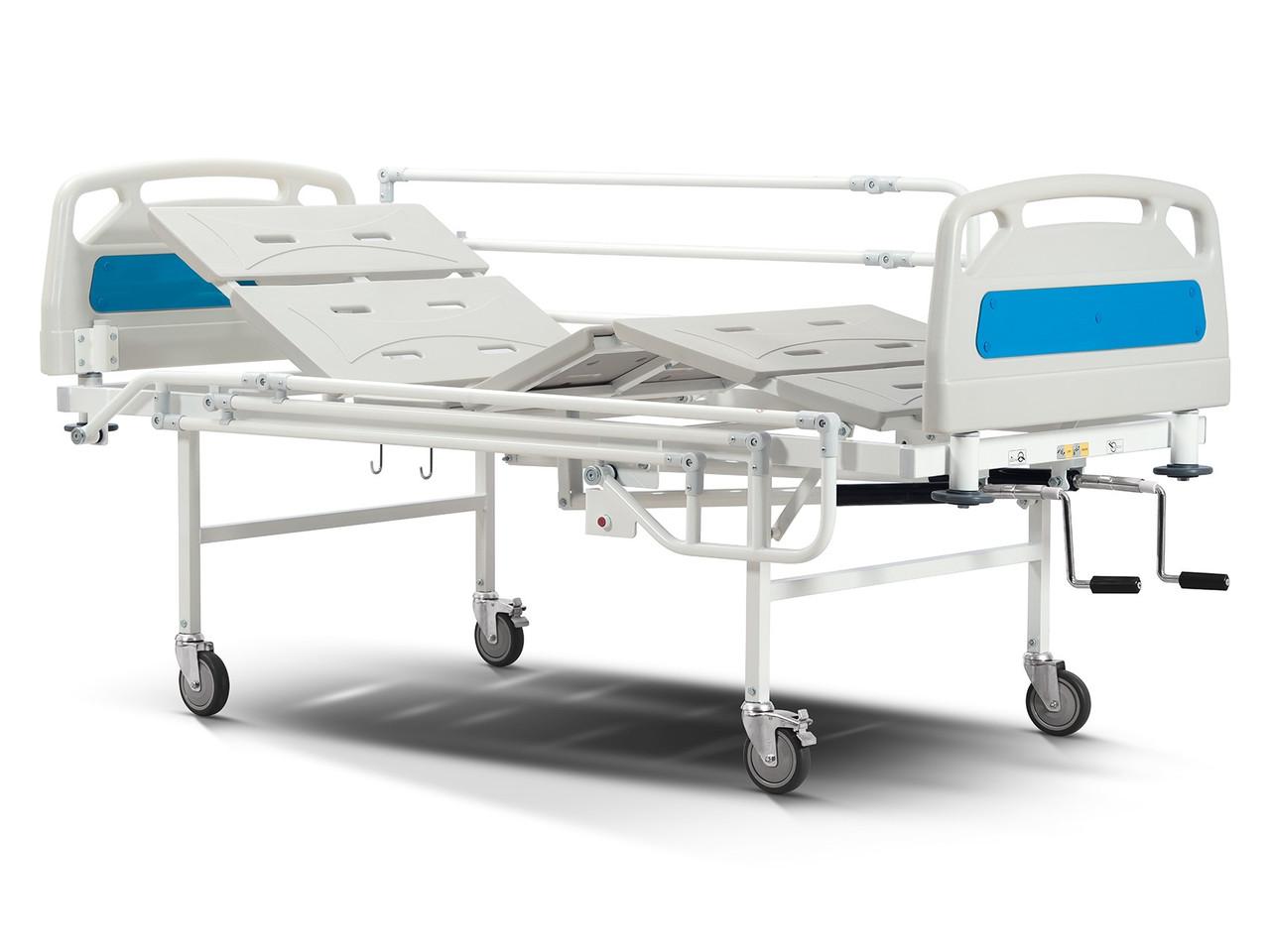 Кровать медицинская механическая 4-х секционная