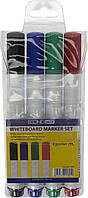 """Набір маркерів """"Economix"""" №E11805 (4шт) для біл. дошки(18)"""