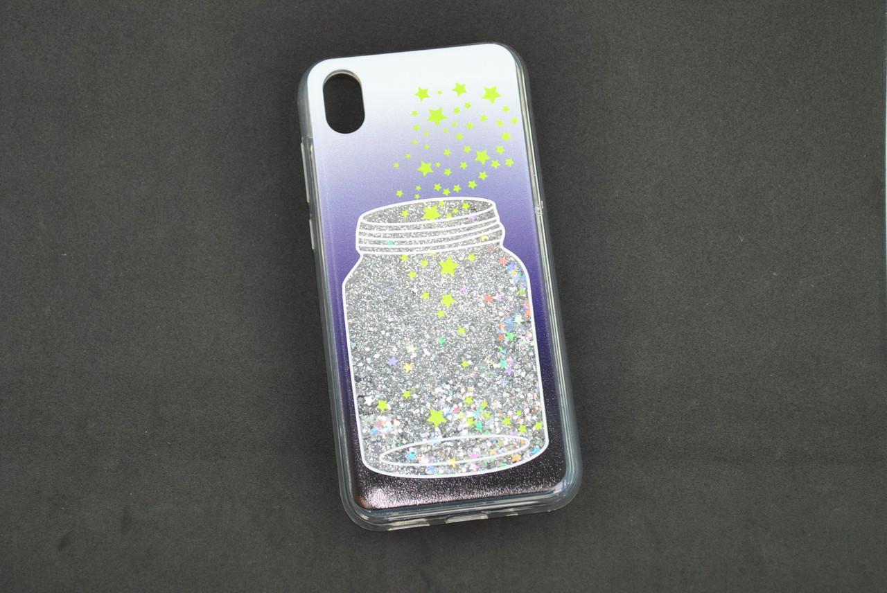 Чехол Xiaomi Mi CC9e/Mi A3 Silicone Water Shine №8 Банка