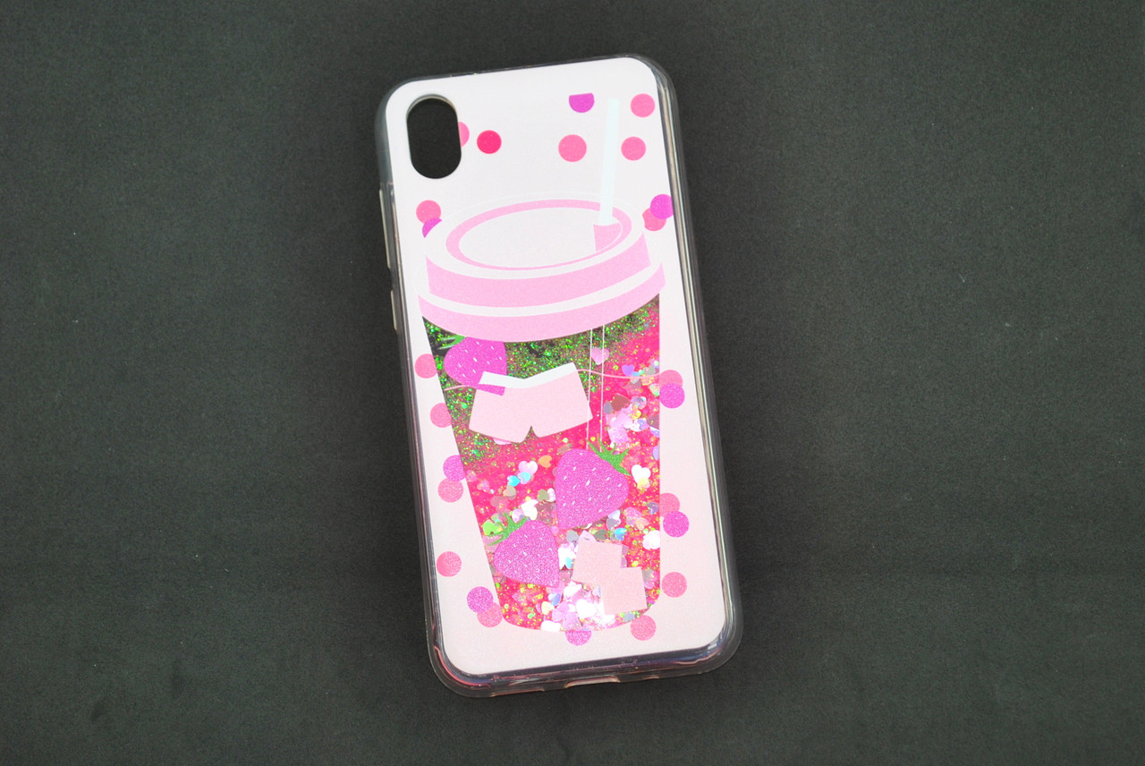 Чехол Xiaomi Mi CC9e/Mi A3 Silicone Water Shine №9 Смузи