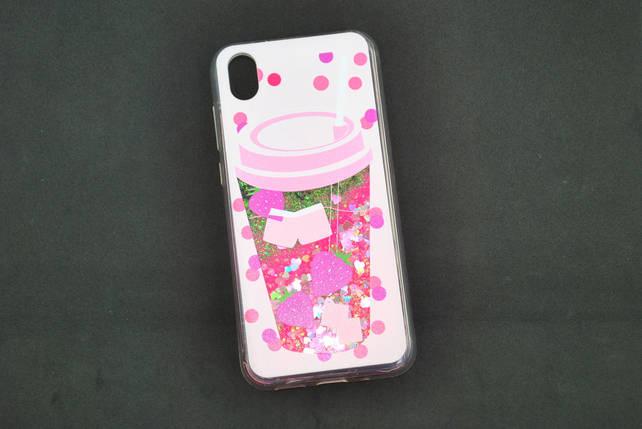 Чехол Xiaomi Mi CC9e/Mi A3 Silicone Water Shine №9 Смузи, фото 2