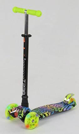 Детский самокат макси Best Scooter MAXI PRINT Звезда, фото 2