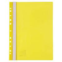 """Папка-швидкозш. """"Axent"""" №1318-26-А A4 з перфор.,жовта(20)(400)"""