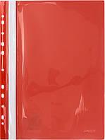 """Папка-швидкозш. """"Axent"""" №1318-24-А A4 з перфор.,червона(20)"""