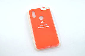 Чехол для Xiaomi Redmi 7 Silicone Original Full №7 new apricot