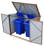 Бокс для мусорных контейнеров Garbage Box, фото 4