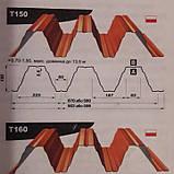 Профнастил Оцинкованный Т -150 | 1,25 мм | Blachy Pruszynski™|, фото 8