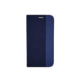 Чехол книжка для Samsung Galaxy A01 A015 боковой, Gelius Canvas Series, Синий