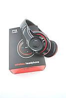 Беспроводные Bluetooth наушники EARPHONES P15 (V 4.2+EDR) Black/red