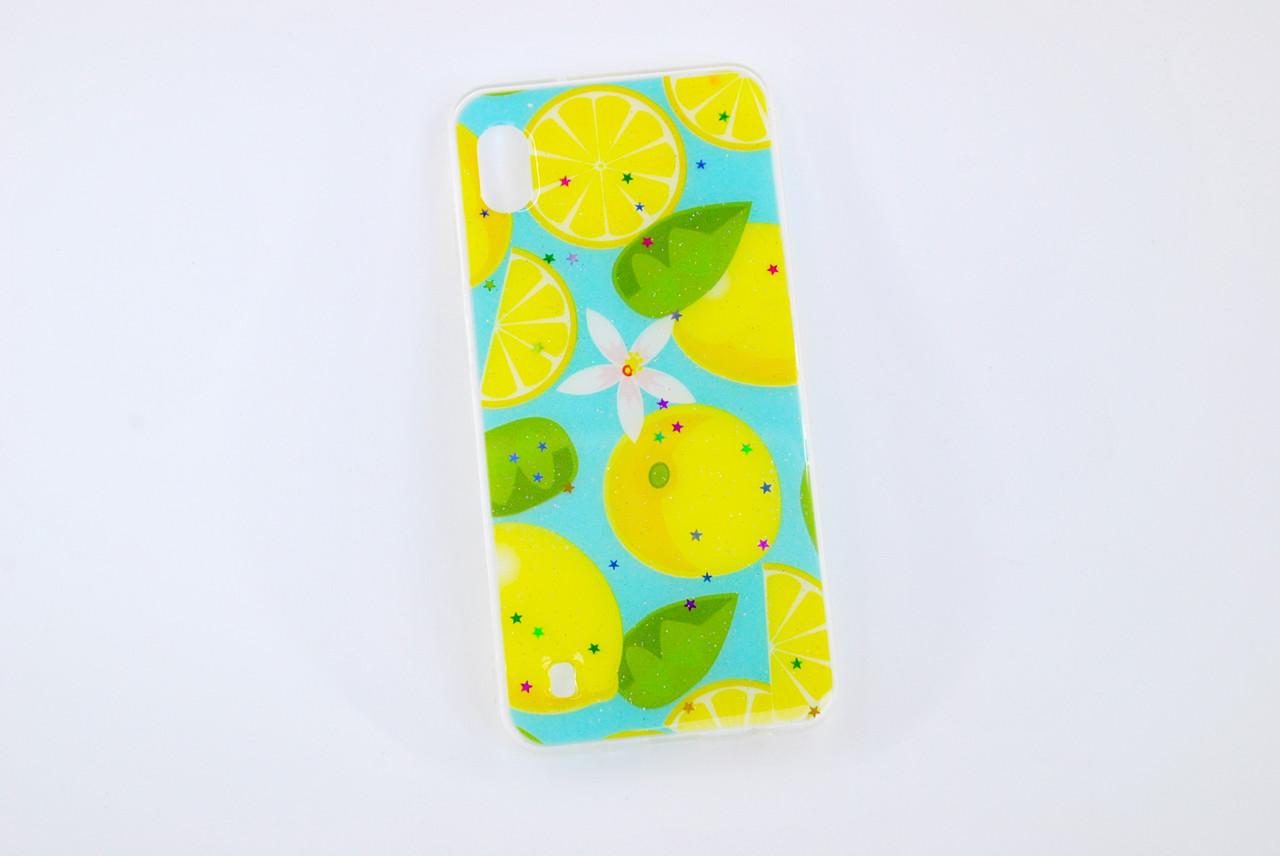Чехол Xiaomi Redmi 6 Silicone Summer Fruit Lemon