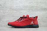 Мужские весенние кроссовки красніе текстильные/сетка  Jordan, фото 2