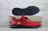 Мужские весенние кроссовки красніе текстильные/сетка  Jordan, фото 5