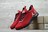 Мужские весенние кроссовки красніе текстильные/сетка  Jordan, фото 6
