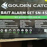 Набор сигнализаторов поклевки Golden Catch з пейджером, фото 2