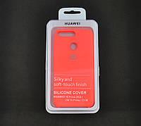 Чехол для Xiaomi Redmi 6 Silicone Cover Soft touch (Logo) Ultra pink