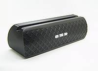Портативная колонка AT-7735 (Bluetooth+USB+FM+держатель для телефона+Soft Touch) black