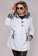 Женская куртка-ветровка большого размера Ocean 2058
