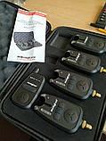 Набор сигнализаторов поклевки с пейджером World4carp, фото 2