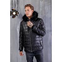 """Мужская куртка теплая """"Philipp Plein """" 1156"""