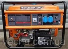 Бензогенератор New Generation NG2800H (ручной пуск, 2.5 - 2.8 кВт, медная обмотка)