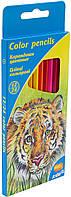 """Олівці кольор. 24 кольор. """"Kite"""" Тварини №K15-054K двостор.(12)(240), фото 1"""