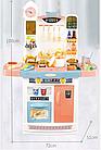 Детский игровой набор интерактивная кухня большая 898A свет звук вода холодильник вытяжка посудка, фото 4