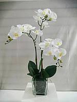 Композиция из искусственных орхидей фаленопсис 3ст.
