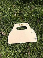 Лопатка для раздувания углей (дерево)