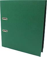 "Папка-реєстратор A4 ""Delta by Axent""  7,5см №1712-23 двостор. PP (т.-зелена)розібраний(1), фото 1"