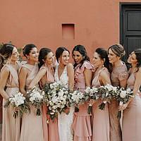 Как мотивировать подружек невесты поддержать стилистику свадьбы?