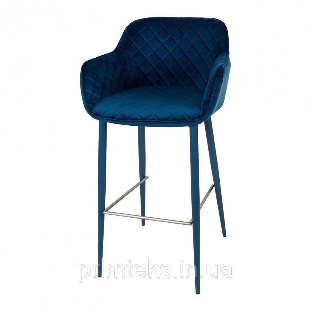 Барний стілець BAVARIA (Баварія) синій