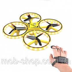 Квадрокоптер Tracker 001 управление с руки (дрон, игрушка с жестовым управлением)