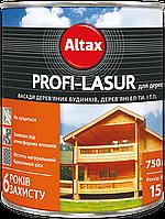 Лазурь для дерева Altax Profi-Lasur 0.75л Тик