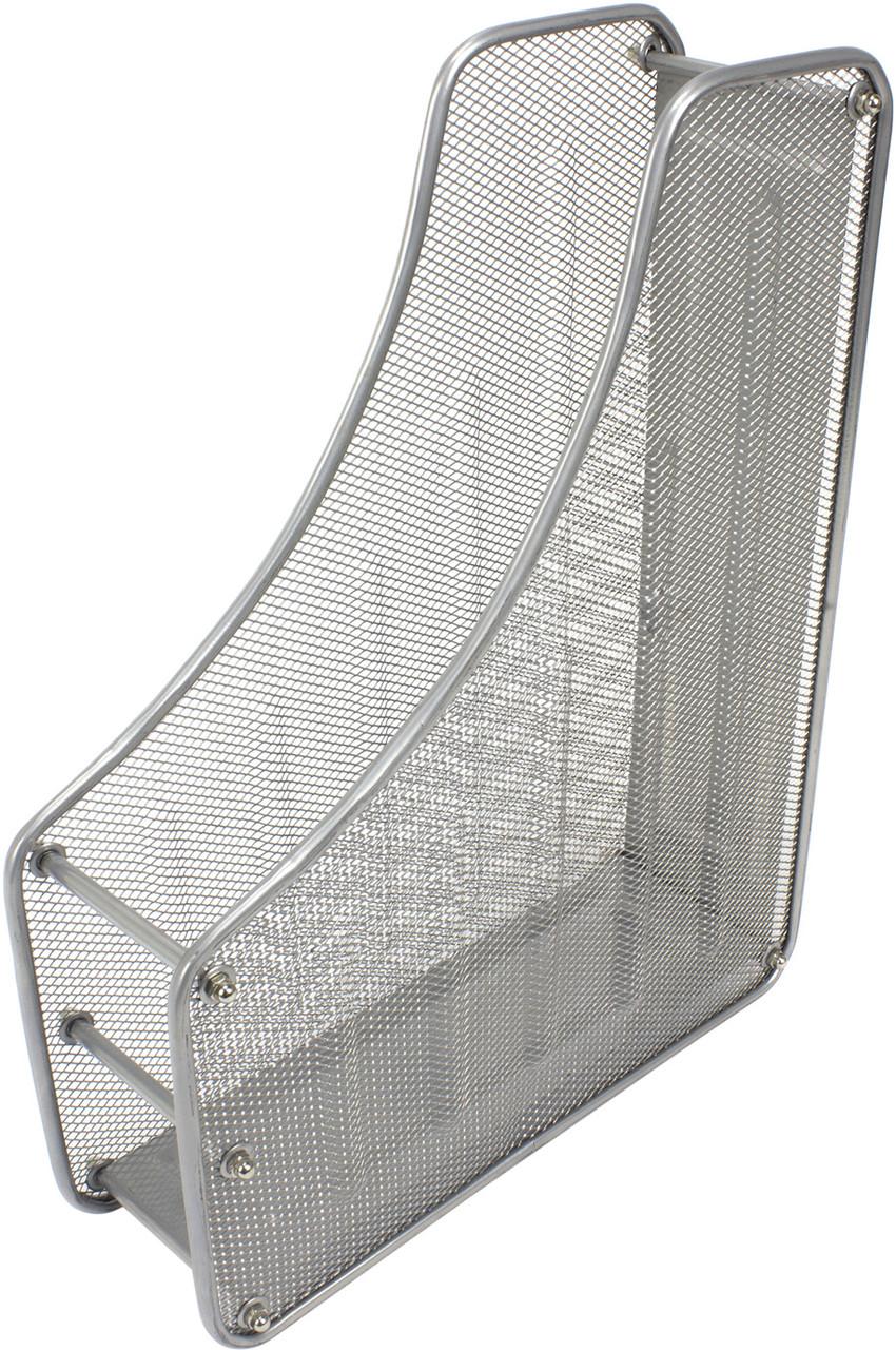 Лоток вертик. №FS-02/Z019/535490 на 1від. метав. сріблястий(24)