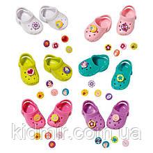 Взуття для ляльки Бебі Борн Крокси в асортименті Baby Born Zapf 824597