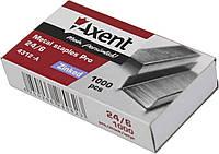 """Скоби """"Axent"""" №24/6 Pro (1000шт) №4312 (20)(500)"""