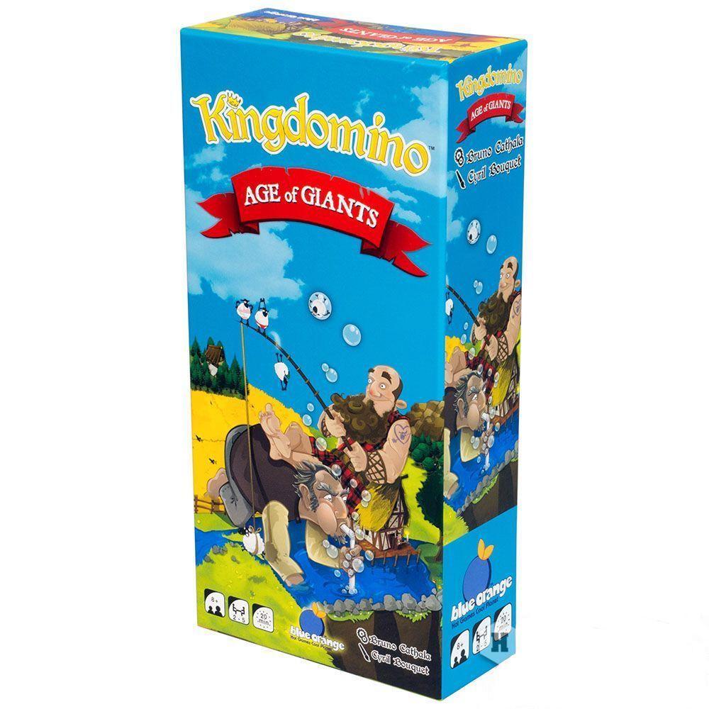 """Настольная игра """"Лоскутное королевство: Век великанов"""" (Kingdomino Age of Giants) арт. 904956"""