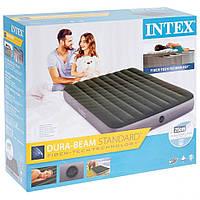 Надувной матрас intex для сна и воды 64109