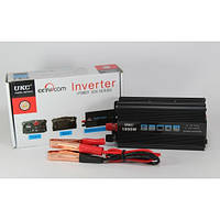 Преобразователь напряжения 1000W  (инвертор 24В-220В 1000Вт)