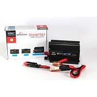 Преобразователь напряжения 500W, (инвертор 12В/220В 500Вт)