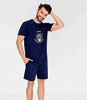 Піжама чоловіча, футболка шорти,ТМ Key,XXL