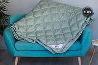 Одеяло ODA двуспальное 4 сезона 175х210 см.| Подвійна ковдра, наповнювач холлофайбер | Одеяло ОДА все сезоны