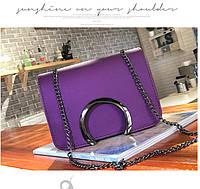 Стильная маленькая женская сумка. Модель 486, фото 4