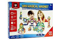 Магнитный конструктор Mini Magical Magnet 58 деталей. Maya Toys M058