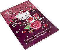 "Картон кольор. A4 двостор. 10арк. ""Kite"" Hello Kitty №HK19-255(50)"
