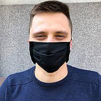 Защитные маски повязки 4-х слойные многоразовые ХЛОПКОВЫЕ бязь